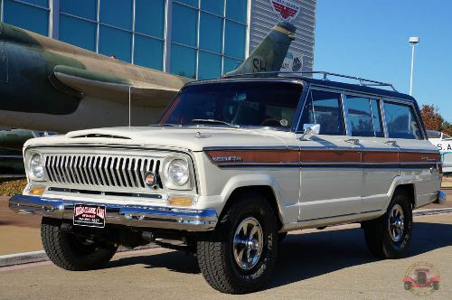 1968 jeep super wagoneer modified 350 v8 for sale in dallas texas. Black Bedroom Furniture Sets. Home Design Ideas