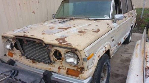 1980 Jeep Grand Wagoneer Automatic For Sale In San Diego