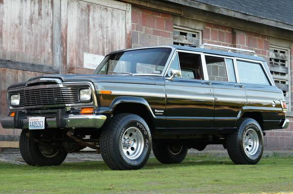 1979 Jeep Grand Wagoneer AMC 360 For Sale in Danbury, Connecticut