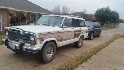 1985 Jeep Grand Wagoneer 8 Cylinders For Sale In Waco Texas