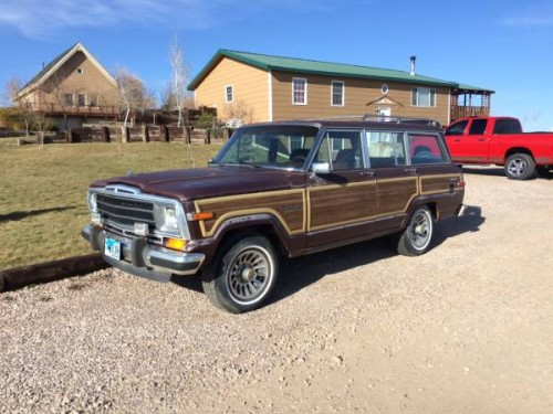 1988 jeep grand wagoneer automatic trans for sale in gillette wyoming. Black Bedroom Furniture Sets. Home Design Ideas