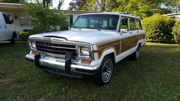1991 jeep grand wagoneer 8 cylinders for sale in jacksonville florida. Black Bedroom Furniture Sets. Home Design Ideas