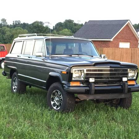 1987 jeep grand wagoneer v6 auto for sale in somerset for Somerset motors somerset ky