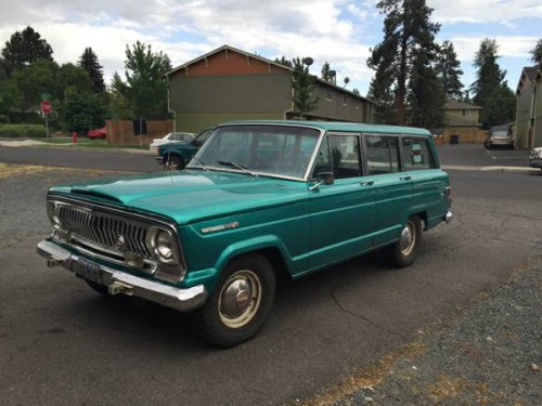 1968 jeep grand wagoneer v8 auto for sale in bend oregon. Black Bedroom Furniture Sets. Home Design Ideas