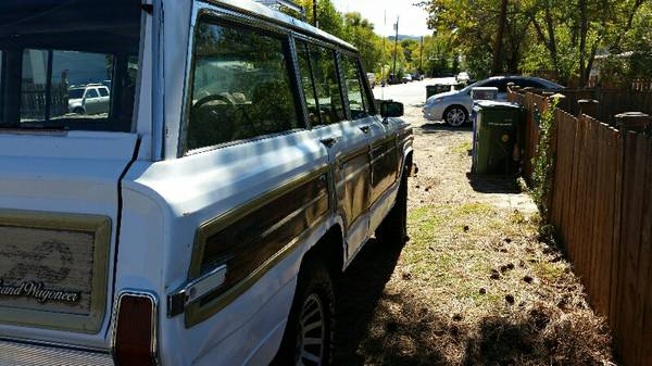 1990 jeep grand wagoneer v8 automatic for sale in prescott arizona. Black Bedroom Furniture Sets. Home Design Ideas