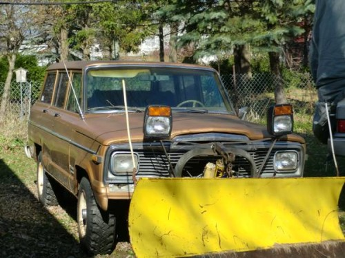 1984 Jeep Grand Wagoneer 258 I6 Auto For Sale in Milwaukee ...