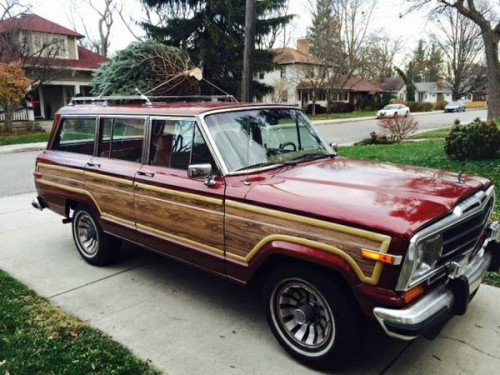 1986 Jeep Grand Wagoneer 4x4 V8 Auto For Sale in ...