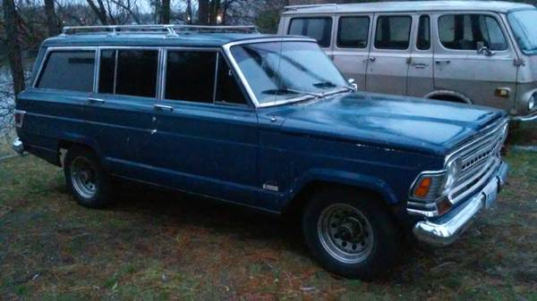 1972 jeep grand wagoneer 360 727 auto for sale in spokane. Black Bedroom Furniture Sets. Home Design Ideas