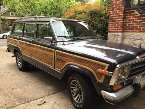 1987 Jeep Grand Wagoneer V8 Manual For Sale In Atlanta