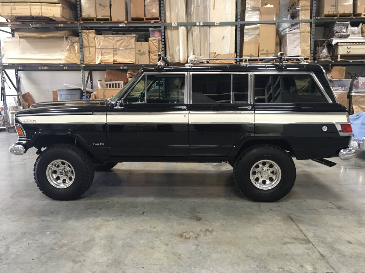 Jeep Wagoneer For Sale >> 1973 Jeep Grand Wagoneer 360 V8 Auto For Sale In Oxnard California