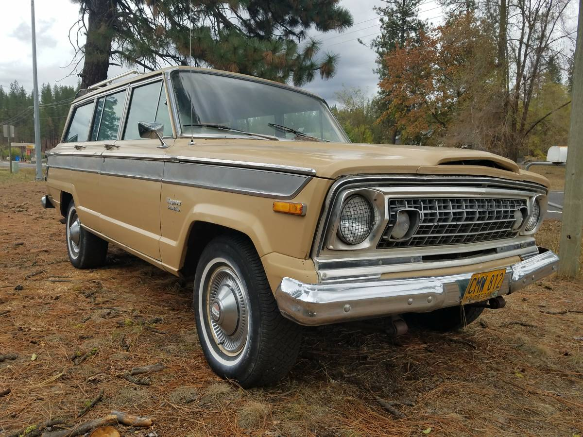 1976 jeep wagoneer j10 honcho for sale in north spokane washington. Black Bedroom Furniture Sets. Home Design Ideas