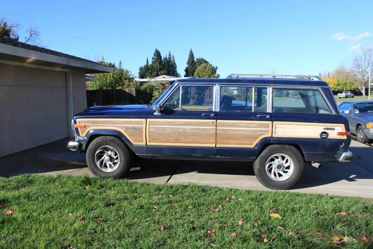 1987 jeep wagoneer 360 cid 727 auto for sale in south sacramento ca. Black Bedroom Furniture Sets. Home Design Ideas