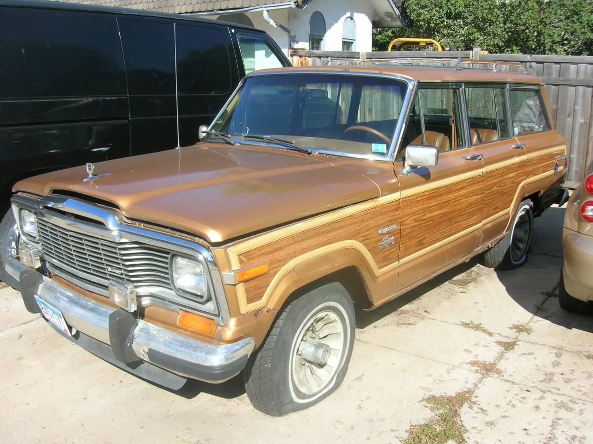 1982 jeep wagoneer project for sale in south minneapolis minnesota. Black Bedroom Furniture Sets. Home Design Ideas
