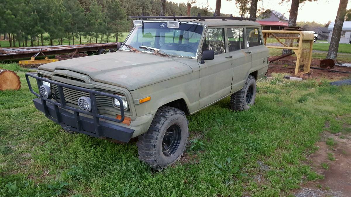 1985 Jeep Wagoneer w/ 33 in Boggers For Sale in Charlotte ...