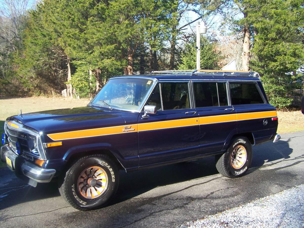 1986 jeep grand wagoneer for sale in south jersey nj 21k. Black Bedroom Furniture Sets. Home Design Ideas